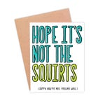 Funny Get Well Soon Card | Feel Better Card | Funny Illness Card | Funny Get Better Soon Card - Heard You Weren't Feeling Well