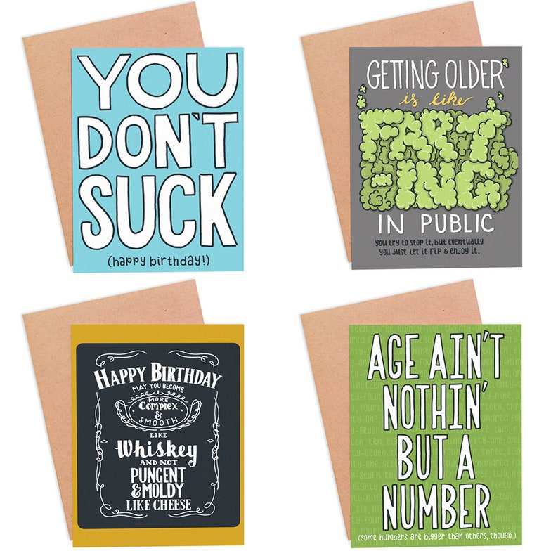 Mystery Pack Of 6 Cards Grab Bag Greeting Card