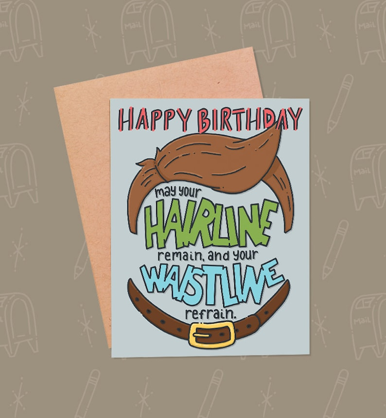 Funny Birthday Card For Guys  Funny Husband Card  Funny image 0