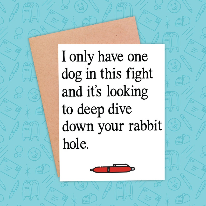 Naughty Valentine's Day Card  Funny Corporate Card  image 0