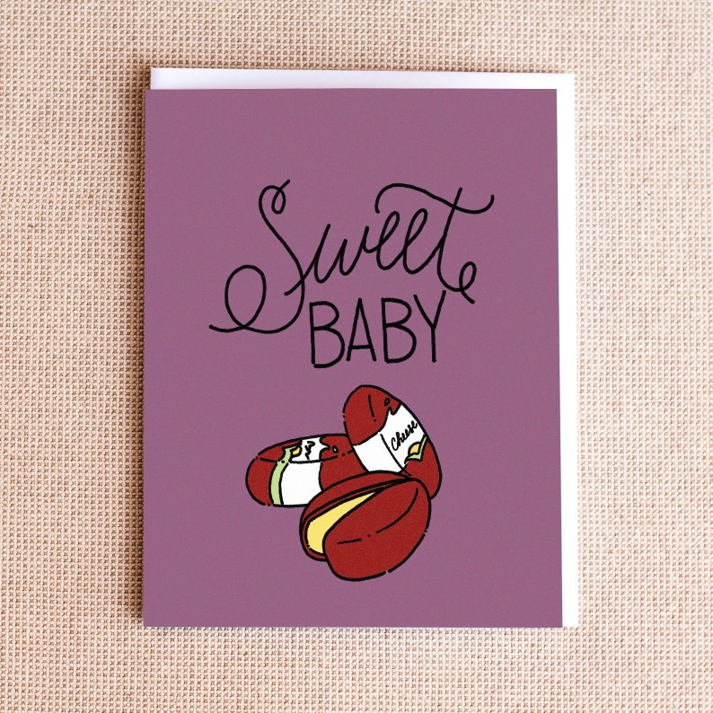 Funny Pregnancy Card  Funny New Mom Card  Funny New Baby image 0