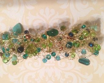 Green, Aqua, Bronze Medley