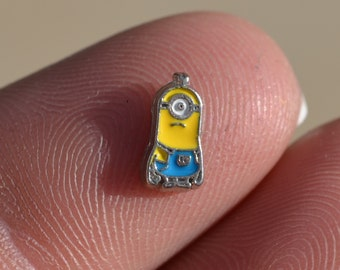 Minions Floating Charm for Glass Living Memory Locket Bob Stuart