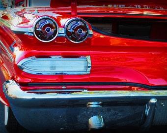 1960 Pontiac Catalina - Classic Car - Garage Art - Pop Art - Fine Art Photograph