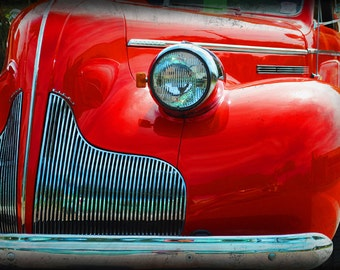 1939 Buick Century 88 - Classic Car - Antique Car - Classic Buick - Garage Art - Pop Art - Automotive Art - Fine Art Photograph