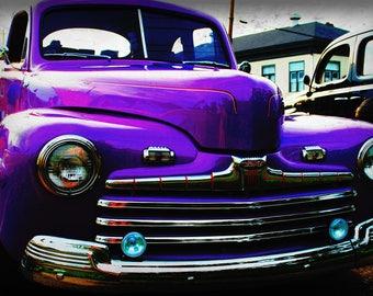 1946 Ford Coupe - Classic Truck - Classic Car - Garage Art - Pop Art - Fine Art Photograph
