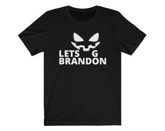 Let's Go Brandon T-Shirt, Brandon Chant T-Shirt, Brandon Biden Shirt, Funny Biden Chant Sweatshirt, Let's Go Brandon Halloween T-Shirt