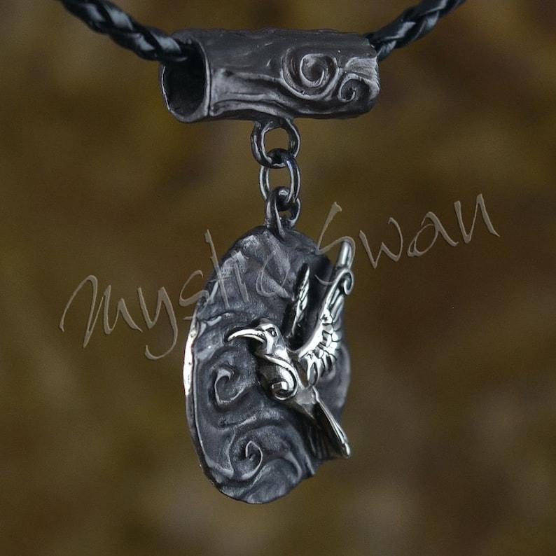 Spirit Animal Hummingbird Pendant Hummingbird Necklace Flying Hummingbird Medallion Sterling Silver Animal Jewelry