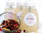 Lemon Rose Foaming Facial Cleanser-soap free-moisturizing for all skin types
