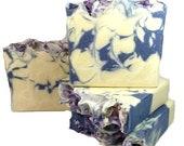 Lavender Chamomile Soap - Vegan blend of oils + aromatic essential oils for Sensitive Skin