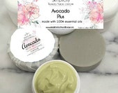 Avocado Facial Soap and Cream Gift Set - handcrafted with specialty ingredients for healthy skin