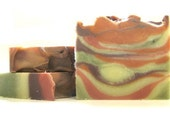 Blackberry Sage Soap made with all natural cosmetic clays - smooth and detoxify for silky skin