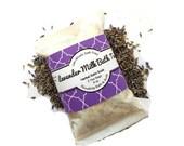Lavender Milk Bath Soak - Tub Tea - Natural Organic ingredients- Perfect little thank you gift/2 convenient tea bags