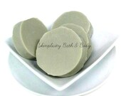 Avocado and Sea Clay Facial Soap - Palm Free - nutrients that nourish and moisturize your skin/rich in vitamin + fatty acids