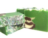 Frosted Pinecones Soap - Cold Process - Vegan - super sudsy and lots of bubbly lather + Limited Edition Holiday Soap
