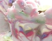 Lavender Rose Soap - Scratch Made Soap/gift soap/guest soap/cold process soap/handmade in Oregon