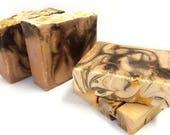 Vanilla Amber Soap- cold process soap/handmade soap/homemade soap/vegan gift soap