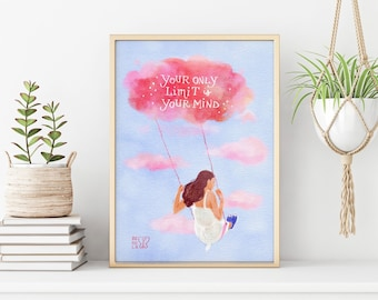 The Swing Print, Digital Print