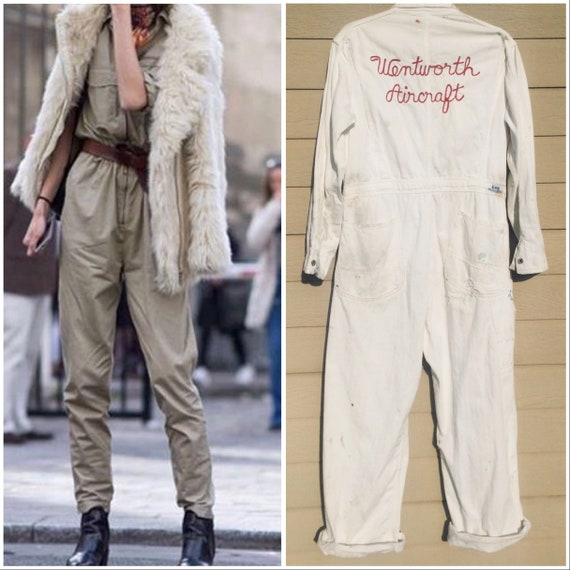 Vintage Lee Chain stitched Jumpsuit coveralls Went