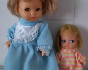 SALE Set of 2 Amanda Jane Doll And playmates mini Mod Doll