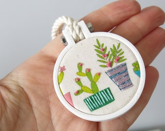Mini Embroidery Hoop 40mm, Colour MIX Hoops, Miniature Hoop For Necklace, Display and Embroidery 3d Printed Free Shipping Australia