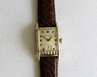 0fb8ebbe75f3 Vintage Wrist Watch - Wittnauer Wrist Watch - Antique Wrist Watch - Unisex  Watch - Vintage Wittnauer Watch - by avintageobsession on etsy