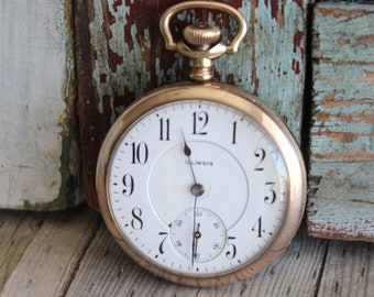 Antique Illinois 1904 Pocket Watch by avintageobsession on etsy...FREE USA Shipping...20% Discount