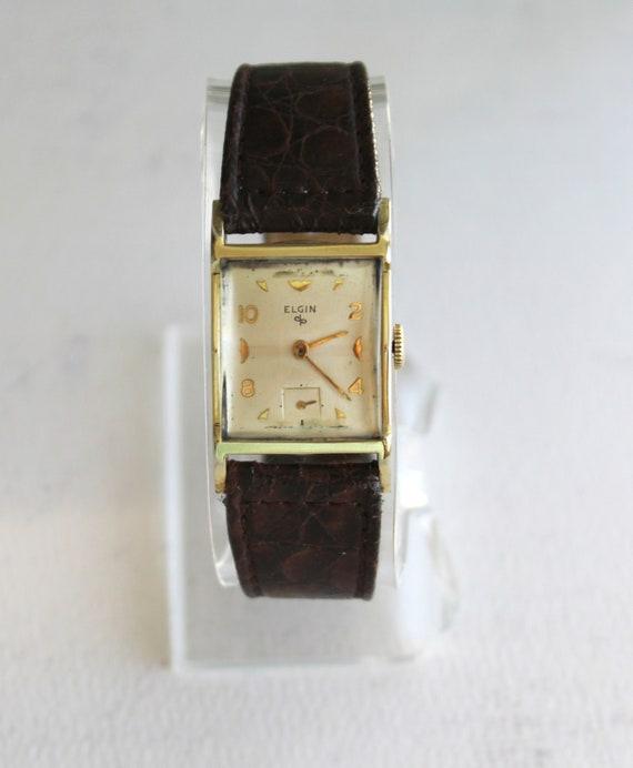 Vintage Elgin Wrist Watch, Vintage Wrist Watch, Vi