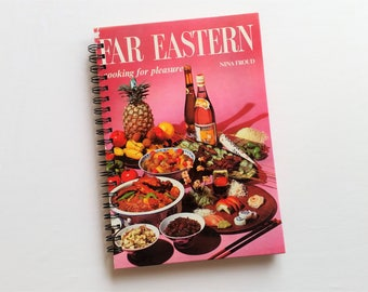 Far Eastern Cooking for Pleasure, Recycled Book Journal & Notebook