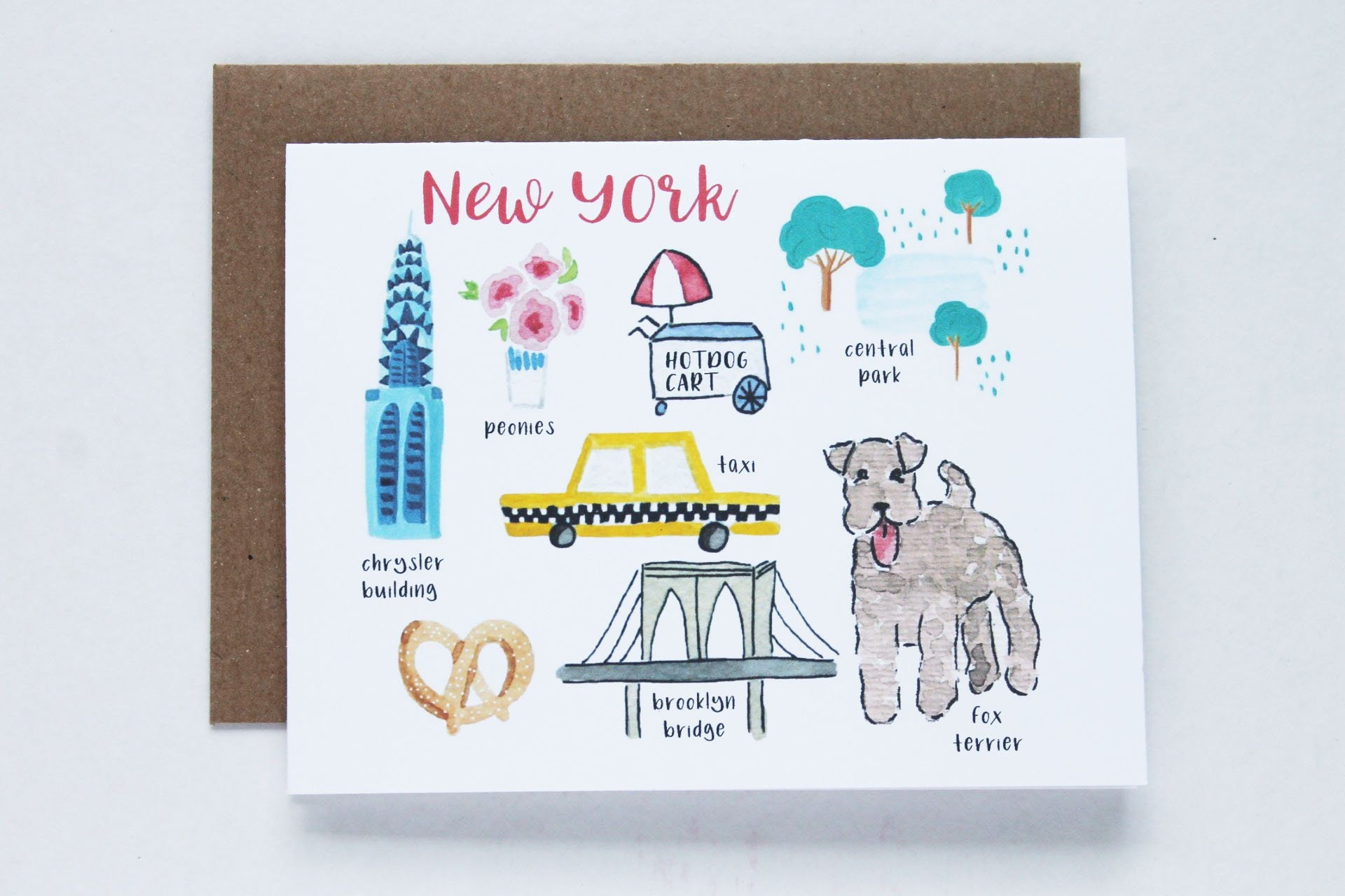 New York Greeting Card Etsy