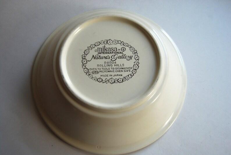 Vintage Mikasa Bowl Dandelion