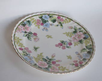 Vintage Plate, Andrea by Sadek, Exceed Bon, Grand Berry, Japan