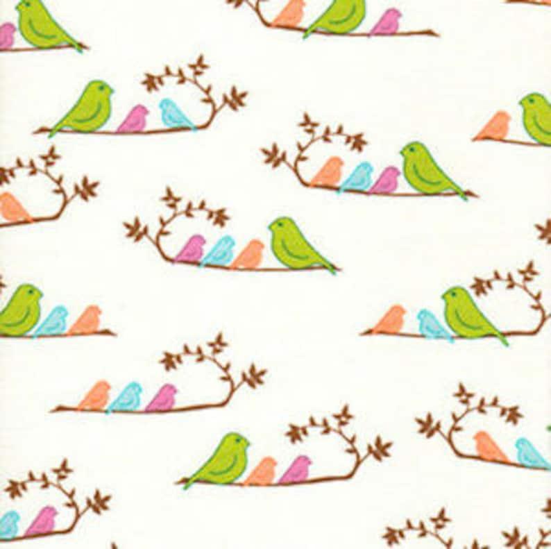 1 1/2 Yards Freespirit Valori Wells Wrenly Fabric  Mamabirds image 0