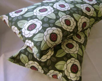 12 x 20 Pillow Cover (1) Thyme Ginseng Bloom by Lilikins Baby + Home