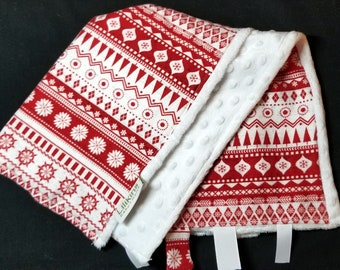 Holiday Sweater - Security / Lap / Car Seat Blanket