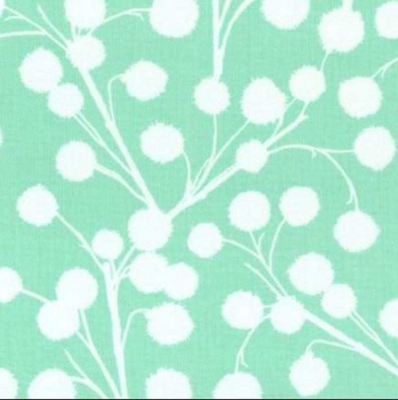 Joel Dewberry Chestnut Branch Light Green/White 60 inches image 0