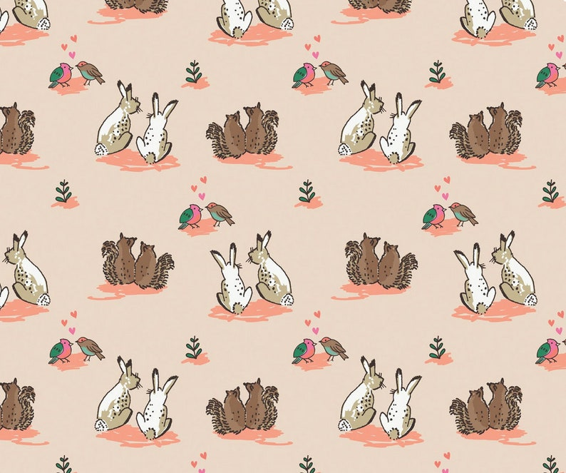 Wilderness Love Camelot Design Studio Fabric 1 yard image 0