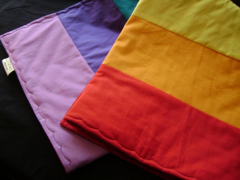 Rainbow  Roy G. Biv  Baby / Toddler Quilt image 0
