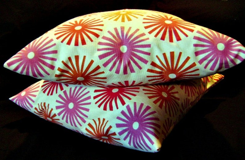 REDUCED 18 x 18 Pillow Cover Tinkertoy Sun by Lilikins Home image 0