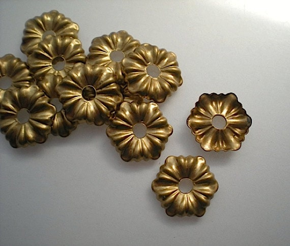 12 Brass Mirror Rosettes No 3 Small, How To Use Mirror Rosettes