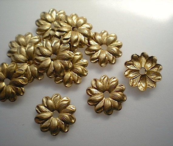 12 Brass Mirror Rosettes No 10 Small, How To Use Mirror Rosettes