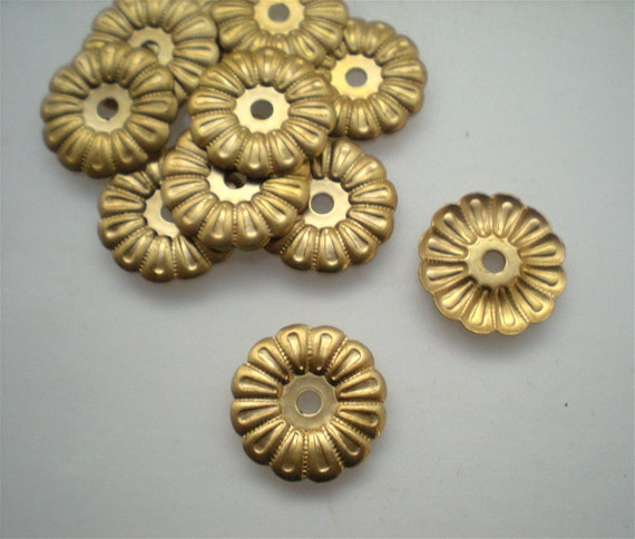 12 Brass Mirror Rosettes No 9 Small, How To Use Mirror Rosettes