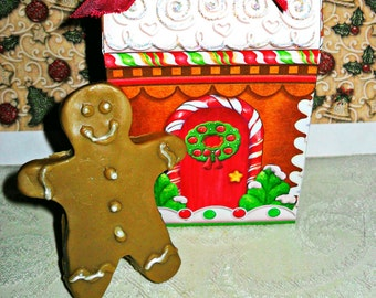 Gingerbread Man Soap Handcrafted
