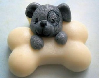 Puppy with Bone Soap