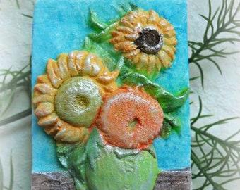 Sunflowers Soap Vincent Van Gogh Soap