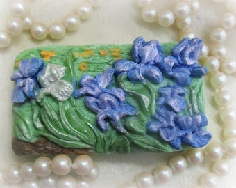 Vincent's Irises Handcrafted Soap