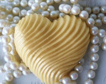SALE 30% OFF Heart of Gold Handcrafted  Honey Soap