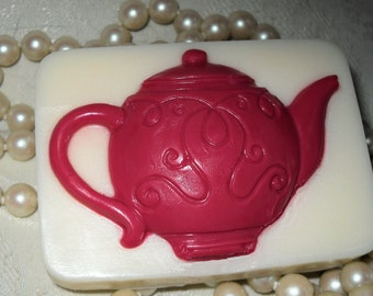 Handcrafted Soap Tea Pot Soap