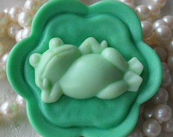 SALE 30% OFF Handcrafted Soap Prince Charming Soap Frog Soap