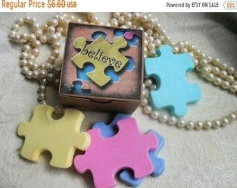 SALE 30% OFF Set of Puzzle Pieces